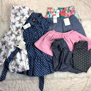 Toddler Spring Outfit bundle 7 pieces 18 months 2t